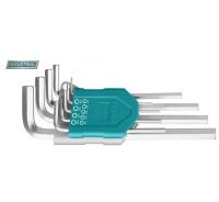 Set 9 chei imbus hexagonale: 1.5-10mm, Cr-V, brat extra-lung (INDUSTRIAL)