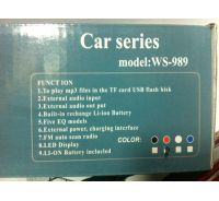 Radio - MP3 SUV WS-989